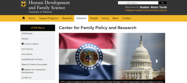 Center for Family Policy and Research