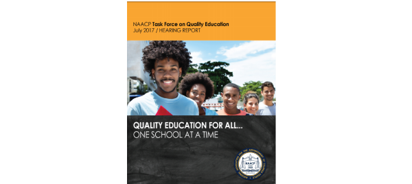 NAACP Quality Education for All: Once School at a Time