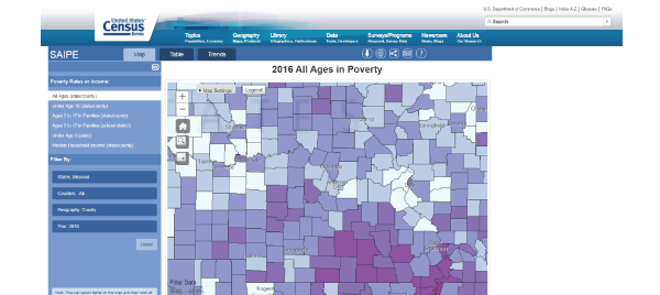 Census Bureau Poverty Data