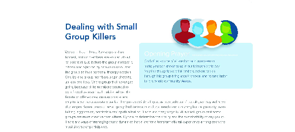 Dealing With Small Group Killers
