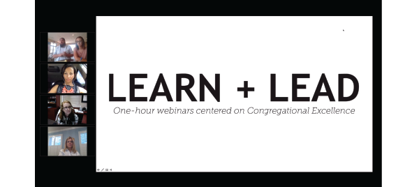 Learn + Lead Webinar: Get Connected with Rev. Andrew Moyer and Lauren Miers