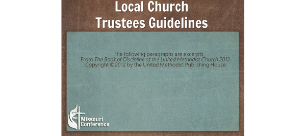 Local Church Board of Trustees Presentation