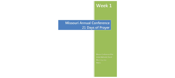 21 Days of Prayer by Rev. Jenn Weekes-Klein