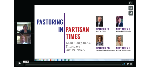 Pastoring in Partisan Times with Mike McCurry