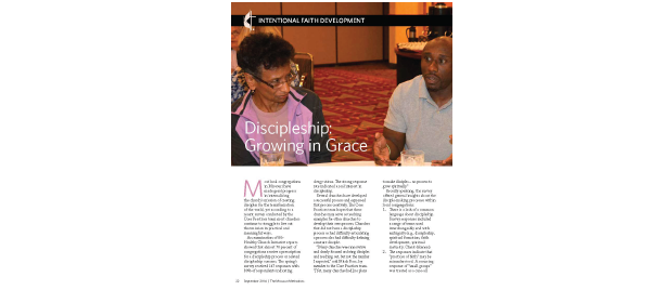 Discipleship: Growing in Grace