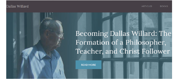 Dallas Willard Spiritual Formation