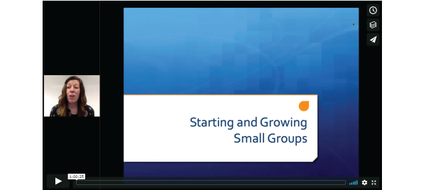Learn + Lead Webinar: Small Groups 101