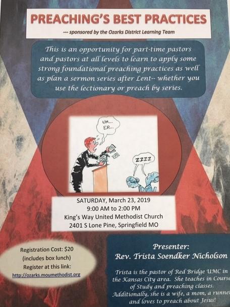 Preaching's Best Practices