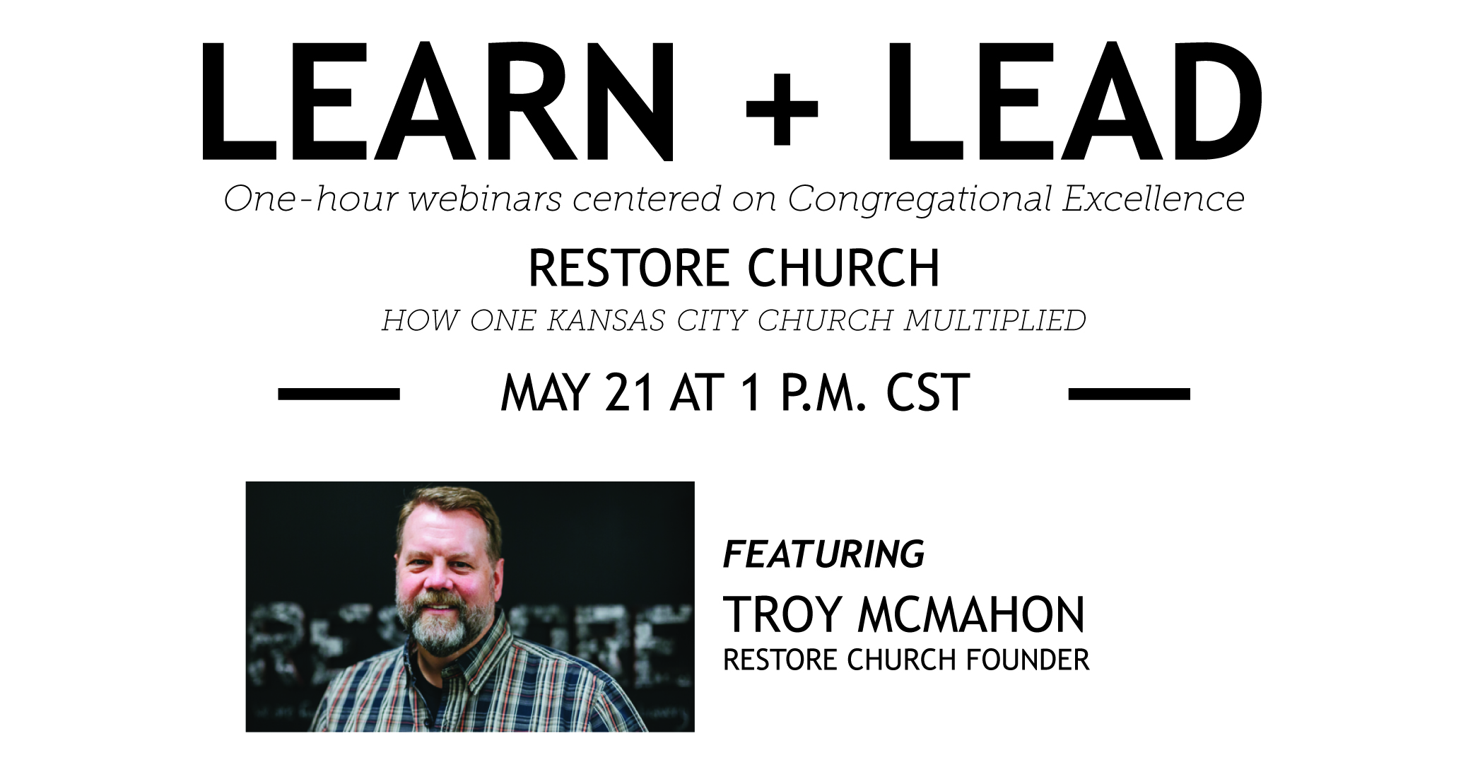 Learn + Lead Webinar: Churches Planting Churches