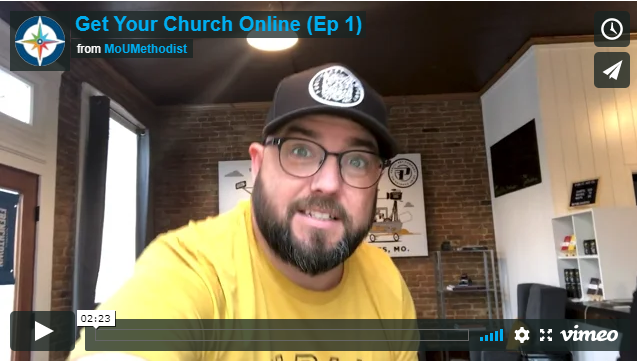 Get Your Church Online- Episode 1: Lighting and Tripods