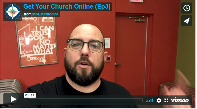 Get Your Church Online- Episode 3: Change Up Your Background