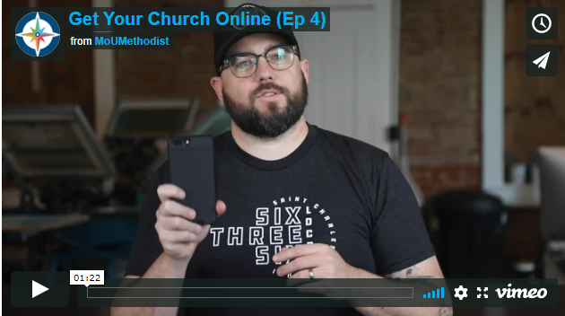 Get Your Church Online- Episode 4: Orientation