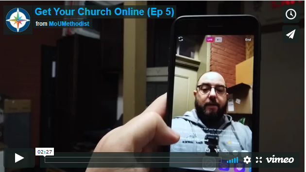 Get Your Church Online- Episode 5: Instagram Live